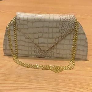 Joy and IMAN pho croc handbag